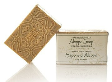 Aleppo Olivenölseife mit Schwarzkümmelöl