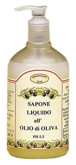 Sapone Liquido all' olio di Oliva