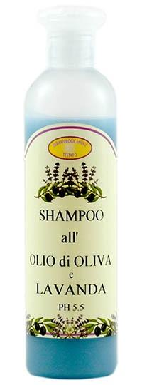 Shampoo all'olio di Oliva e Lavanda