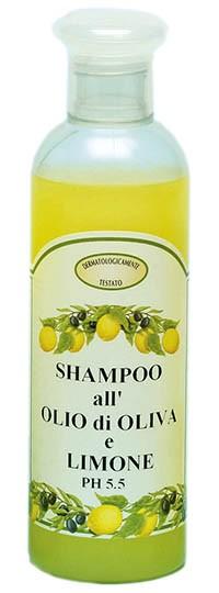 Zitronenshampoo mit Olivenöl