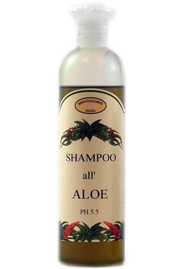 Shampoo mit Aloe Vera Extrakt