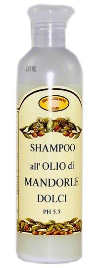 Shampoo all'olio di Mandorle dolci