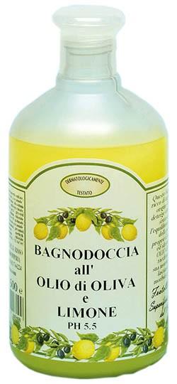 Duschgel mit Olivenöl und Zitronenduft