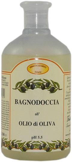 Düschgel mit Olivenöl