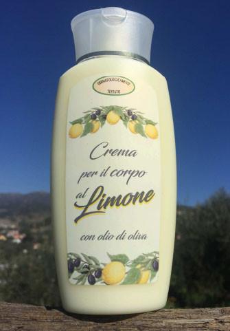 Crema per il copro al Limone